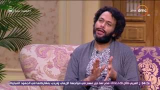 السفيرة عزيزة - السيناريست / محمد أمين راضي .. يتحدث عن والدته ولماذا يسيطر الغموض على جميع مسلسلاته