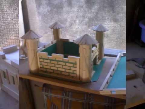 Castelo Com Palitos De Picolémp4 Youtube