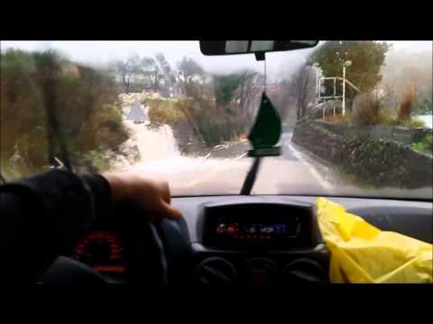 montenegro budva bad weather