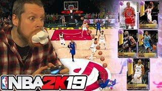 Galaxy Opal Trick Shot Challenge NBA 2K19