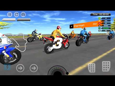 City Bike Race Game - Gameplay Android game