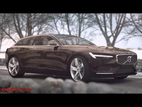 Volvo Estate Concept P1800 XC Estate 2015 First Commercial CARJAM TV HD 2014