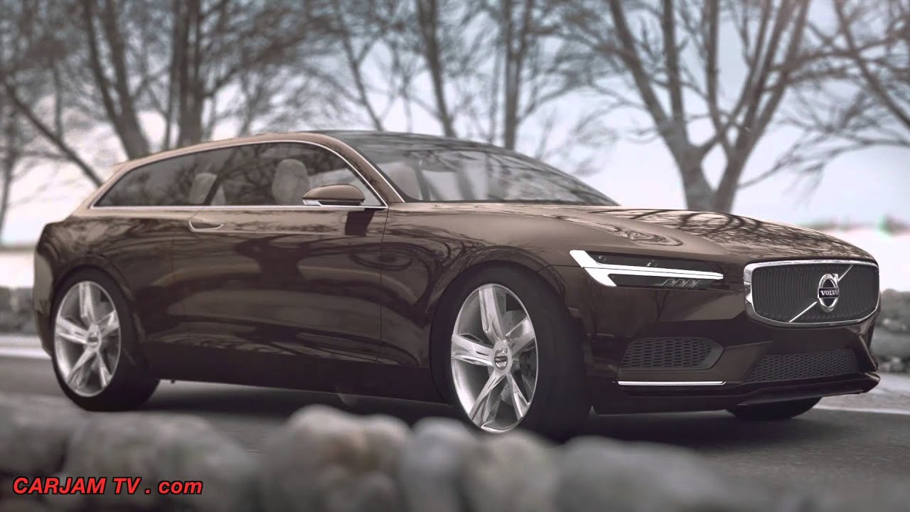 Volvo Estate Concept P1800 XC Estate 2015 First Commercial CARJAM TV HD 2014 - YouTube