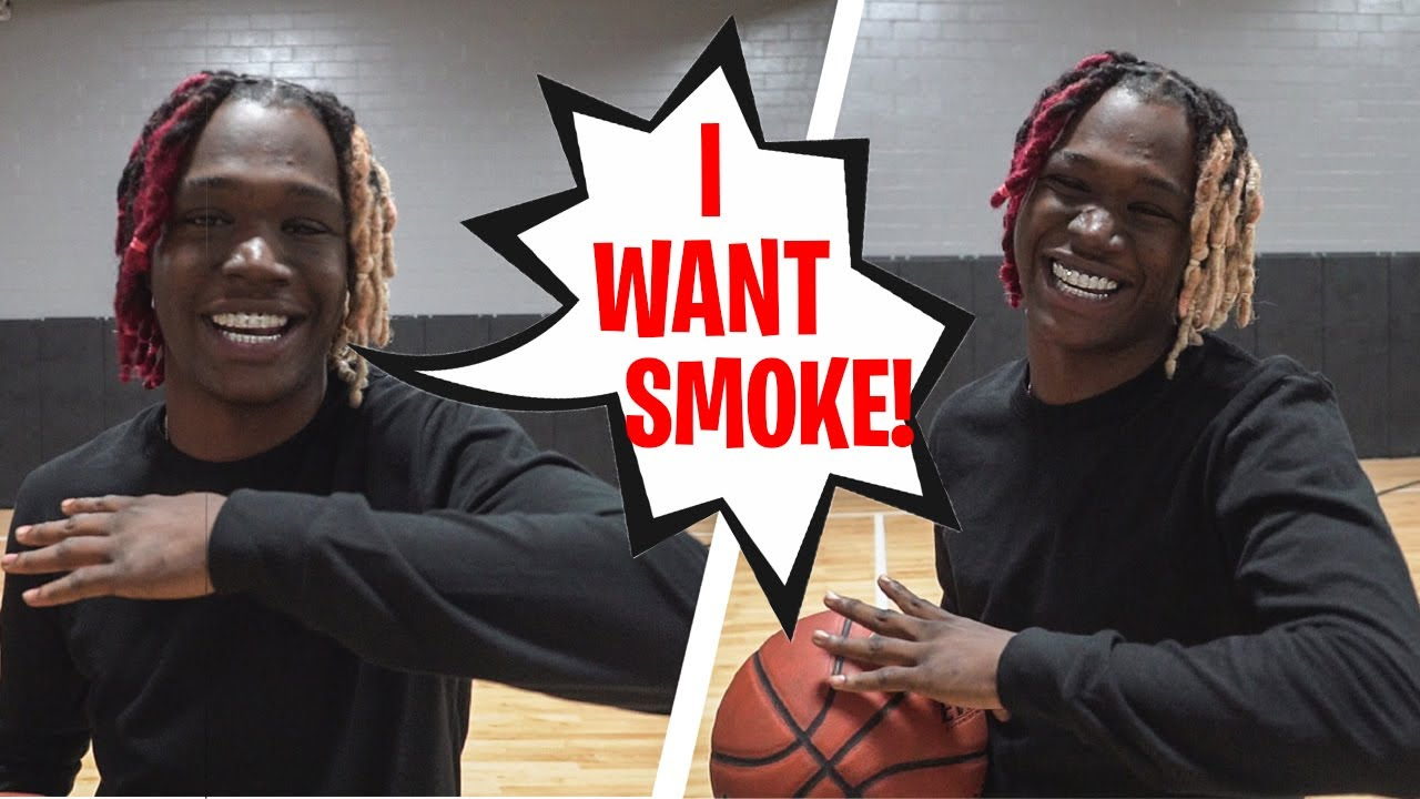 2K BABY Calls Me Out! HE WANTED ALL THE SMOKE! 1v1 Basketball for $1000 @2KBABY