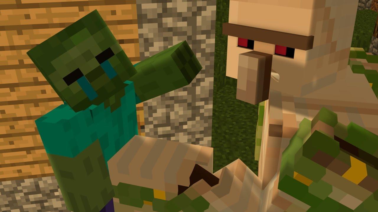 Iron Golem Life 1 Minecraft Animation Youtube