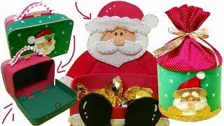 DIY – Ideias INCRÍVEIS em EVA para VENDER ou Presentear – Especial Natal