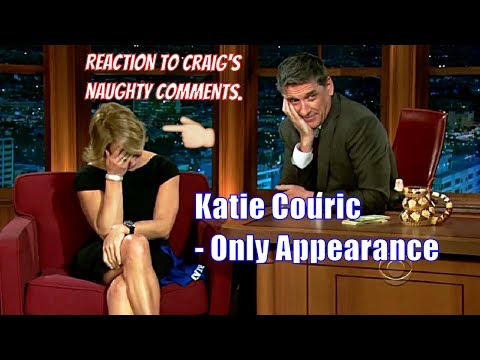 Katie Couric - Craig Is Not Holding Back - Only Time On The Show [720p]