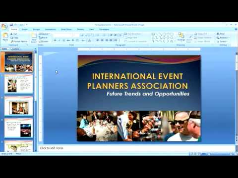 how to create and apply powerpoint templates for dummies - youtube, Modern powerpoint