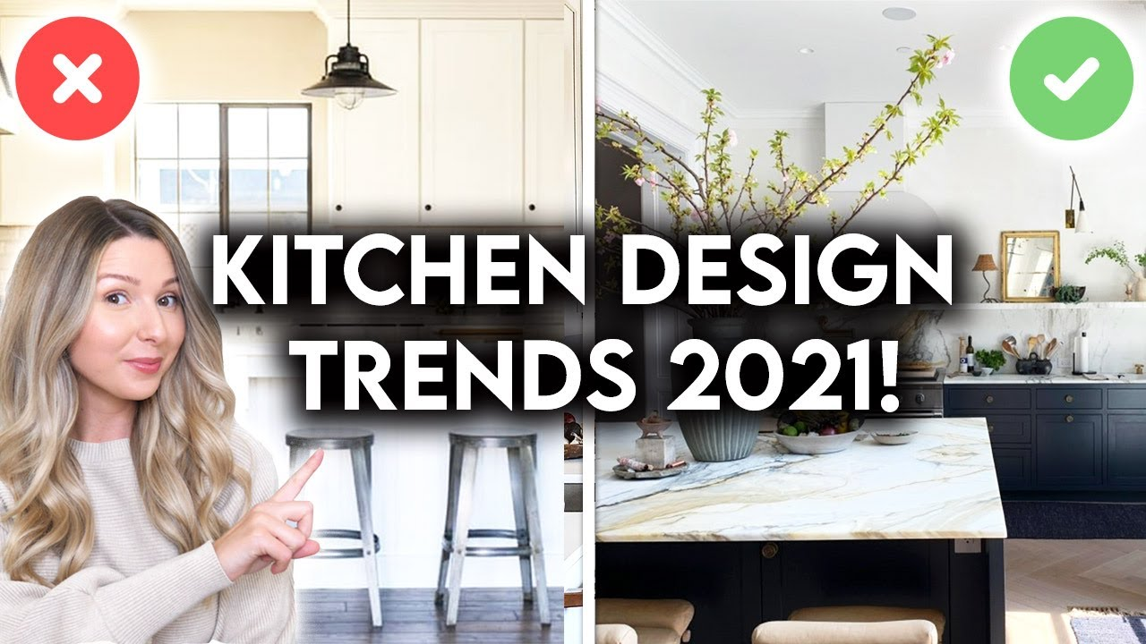 TOP 10 KITCHEN DESIGN TRENDS FOR 2021 | INTERIOR DESIGN TIPS