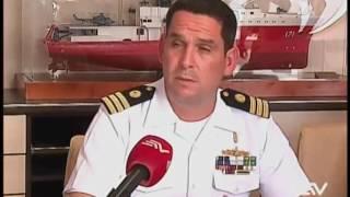 Buque oceanográfico peruano 'Carrasco' arribó a Guayaquil