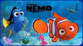 ♡ Disney Finding Nemo ♡ Learn Numbers Educational Game App For Kids