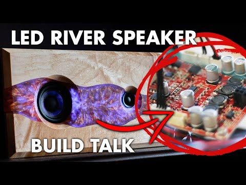 LED Epoxy Resin River Table Bluetooth Speaker | 🔊BUILD TALK!🛠️