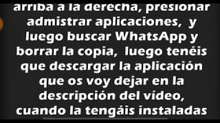 RESTAURAR ANTIGUA COPIA DE SEGURIDAD DE WHATSAPP [SOLUCIONADO]
