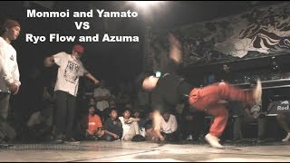 Crazy battle plus overtime (!!!) between 4 of Japan's most famous c...
