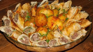 Восточный праздничный ужин 'ЖАРЕНЫЙ ХАНУМ'