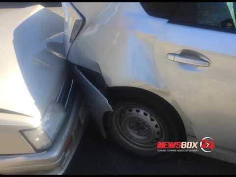 Несоблюдение дистанции привело к массовой аварии на Партизанском проспекте