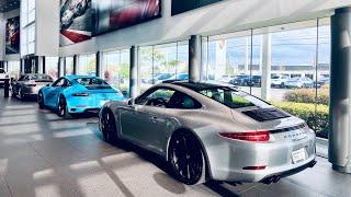 991 gen 1 veŗsus gen 2 | Porsche 911 Carrera GTS