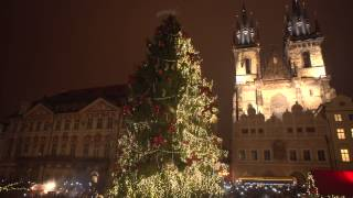 Christmas Old Town Square Prague 2014