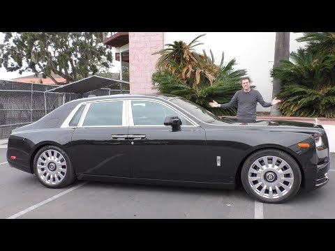 The 2018 Rolls-Royce Phantom Is a $550,000 Ultra-Luxury Car