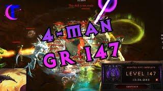 Diablo III Season 18 - 4man Greater Rift 147