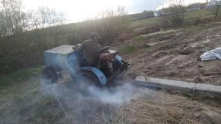 Мини трактор самоделка прикол