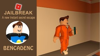 ROBLOX JAILBREAK | A NEW INSTANT SECRET ESCAPE WITH KEYCARDS!