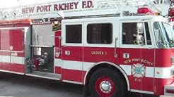 New Port Richey Fire Rescue - raw video