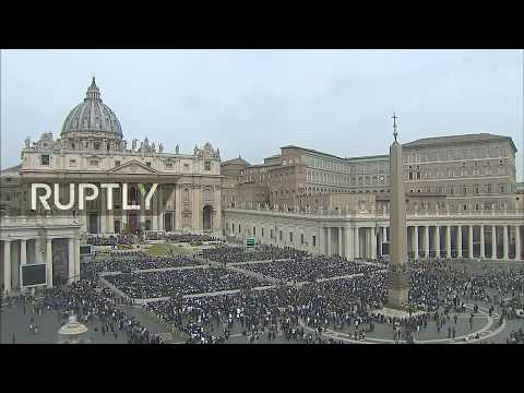 LIVE: Pope Francis celebrates Easter Sunday mass at St. Peter's Square Mp3