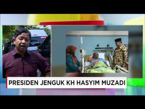 Presiden Jokowi Jenguk KH Hasyim Muzadi