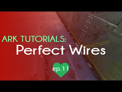 How to Place Wires Perfectly | TL;DR Tricks | Ark Survival Evolved | Epsiode