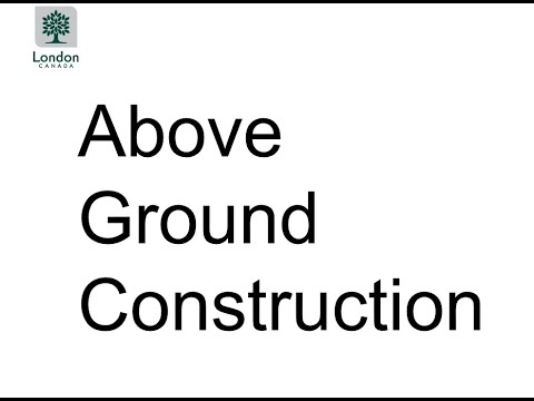 Project Update Meeting - Presentation Two: Information about Above Ground Construction