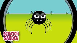 The Itsy Bitsy Spider | Scratch Garden