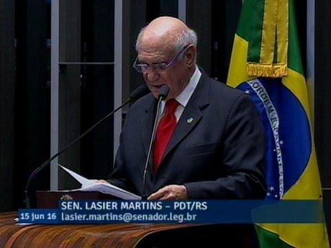 Para Lasier Martins, reforma política e partidária tem de ter medidas para evitar a corrupção