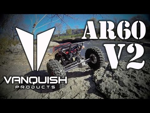 Vanquish Products - AR60 V2 aluminum axle housings for the Axial Wraith/Yeti