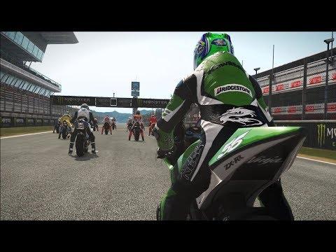 MotoGP 17 - Kawasaki ZX-RR 2005 - Test Ride Gameplay (PC HD) [1080p60FPS]