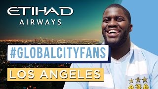 NFL star is blue through and through! Meet #GlobalCityFans in LA