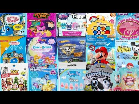 Blind Bags Toys Opening Surprises Nintendo MLP Toy Story Hatchimals Fun Kids Play - 동영상