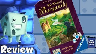 The Castles of Burgundy: The Dice Game Review - with Tom Vasel
