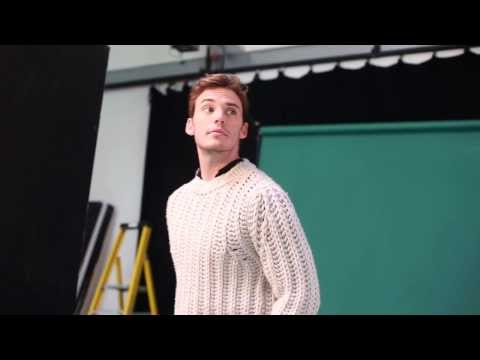 Esquire UK - December 2013 - Behind the Scenes with Sam Claflin