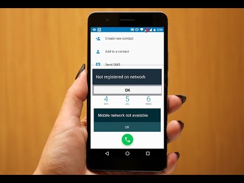How To Fix Not Registered On Network Issue In Android Phone & Tablet