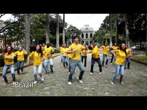 Communauté du Chemin Neuf - Flashmob Come Holy Spirit ! [International]