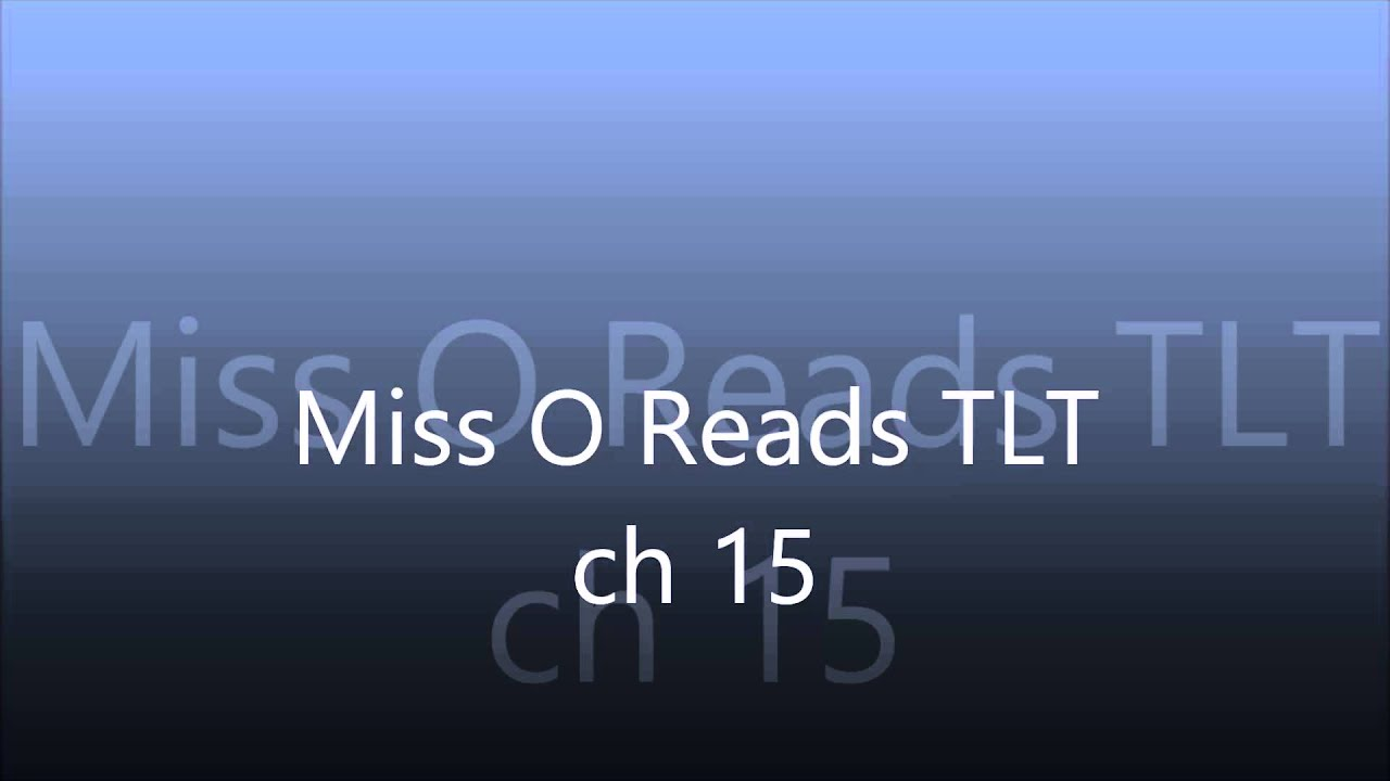 Miss O Reads The Lightning Thief Ch 15