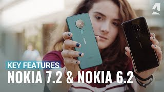 Nokia 7.2 and Nokia 6.2 hands-on and top features