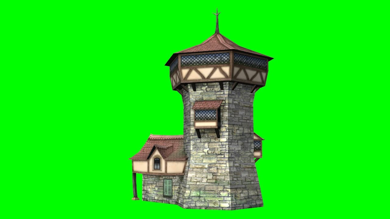 Tower House Green Screen Effect Youtube