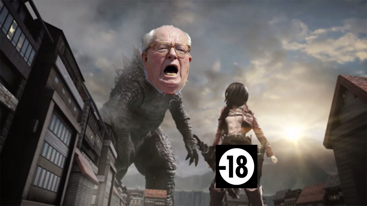parodie attaque des titans