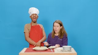 Kalen & Jeannie React to His Homemade 7 Up Salad Cake