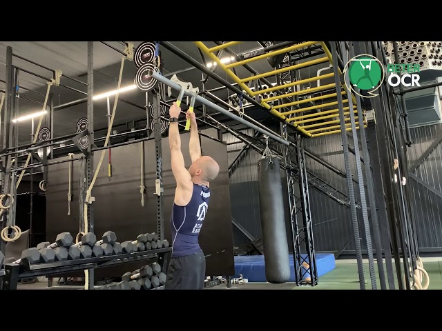 Ice Axe Oefening Pull ups