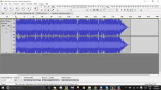 How to Cut Audio in Audacity and Save as mp3