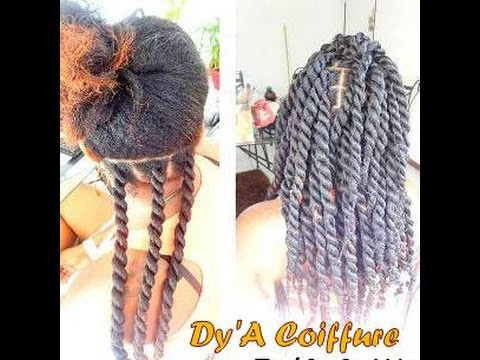 Extrem HOW TO ☆ Senegalese or Havana twist - By Dy'A - YouTube MV22