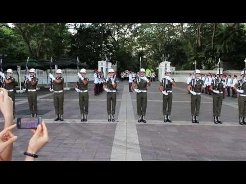 Change Of Guard - 101113 - SWAT Theme and Hawaii Five-O!